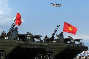 Xe lội nước-phòng không độc nhất vô nhị của Việt Nam