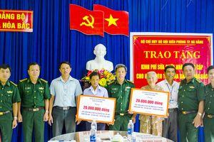 Bộ đội biên phòng TP Đà Nẵng thực hiện tốt phong trào đền ơn đáp nghĩa