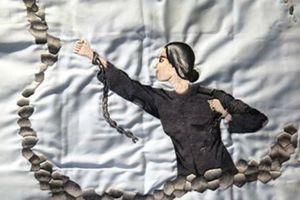 Chuyện cảm động về bức tranh 'Uyên ương thêu dở' chốn lao tù