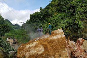 Hoàn lưu bão số 3 làm hư hỏng nặng nhiều tuyến đường ở Sơn La