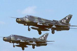 Những vụ rơi máy bay quân sự Su-22 trên thế giới