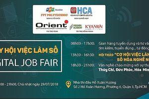 Lần đầu tiên Việt Nam tổ chức 'Ngày hội việc làm số'