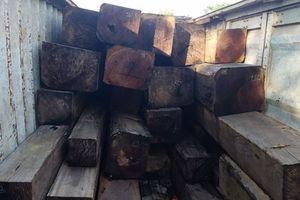 Vụ hơn 40m3 gỗ lậu tại huyện Kong Chro: Công an bắt tạm giam chủ gỗ