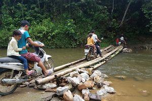 Người dân thôn Khuổi Luồn (Hà Giang) không còn đi lại khó khăn