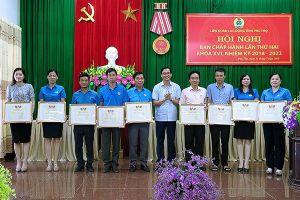 Kỳ họp thứ hai Ban chấp hành LĐLĐ tỉnh Phú Thọ khóa XVI