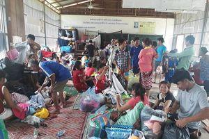 Vỡ đập thủy điện ở Lào: Tường trình từ một điểm tập kết người bị nạn