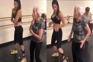 Clip cụ bà nhảy điêu luyện khiến cộng đồng mạng thích thú