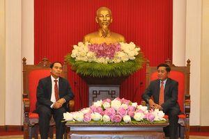 Tăng cường hợp tác trong công tác kiểm tra giữa Việt Nam và Lào