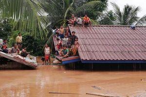 Cập nhật vụ vỡ đập thủy điện Lào: Lên tới 3.000 người vẫn đang chờ giải cứu