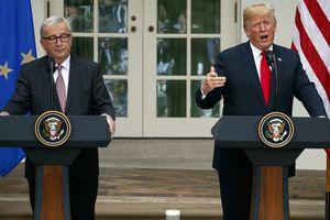 Mỹ-EU đạt thỏa thuận 'đình chiến' trong bất đồng thương mại