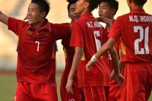 Lịch thi đấu giải U16 Đông Nam Á 2018 của U16 Việt Nam