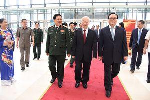 Lãnh đạo Đảng, Nhà nước dự Lễ kỷ niệm 10 năm Hà Nội điều chỉnh địa giới hành chính