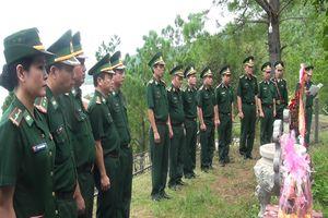 Nhiều hoạt động ý nghĩa của BĐBP tri ân các anh hùng, liệt sĩ