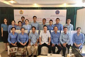 2 lớp tập huấn dành cho cán bộ Công đoàn Lào