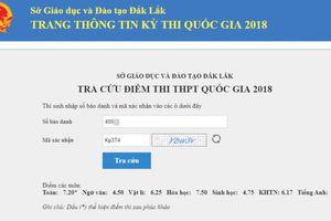 Trường hợp điểm từ 0,6 lên 7,2 sau phúc khảo ở Đắk Lắk: Do thí sinh tô đáp án mờ