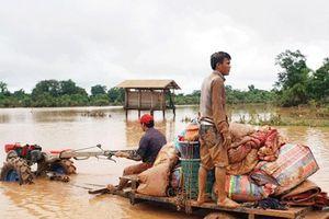 Sự cố vỡ đập thủy điện ở Lào: Nước lũ tiếp tục tiến sâu hơn về phía hạ lưu