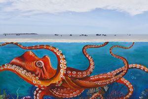 Quảng Ngãi: Đưa vào sử dụng công trình đường bích họa ven biển