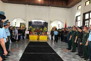 Lễ truy điệu hai phi công hy sinh tại Nghệ An