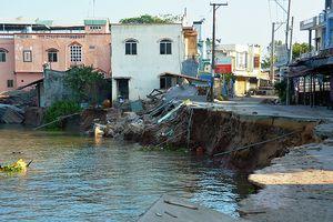 Phù sa sông Me Kông giảm mạnh khiến ĐBSCL sạt lở nghiêm trọng?