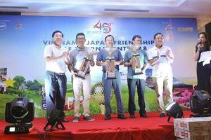 Giao hữu Golf thắm tình hữu nghị Việt Nam - Nhật Bản