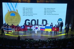 Việt Nam giành 1 Huy chương Vàng tại Olympic Hóa học quốc tế năm 2018