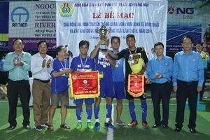 KKT Dung Quất và các KCN Quảng Ngãi: 18 CĐCS tham gia giải bóng đá truyền thống