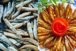 Cá bống sốt cay ngọt lạ miệng, trôi cơm