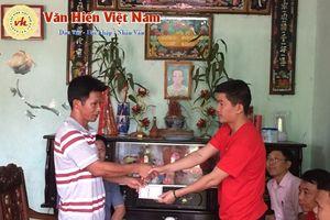 Vĩnh Phúc: Trao sổ tiết kiệm cho 3 cháu mồ côi mẹ, không cha ở xã Quang Yên