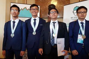 Việt Nam giành 1 huy chương Vàng Olympic Hóa học quốc tế năm 2018