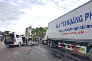 Tai nạn thảm khốc trên quốc lộ 1A khiến 13 người tử vong