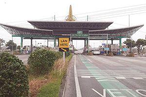 Trạm BOT Mỹ Lộc đang phải tạm thời xả trạm