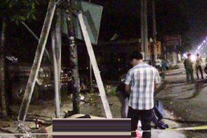 Ô tô tông xe máy văng lên vỉa hè, 2 người chết tại chỗ