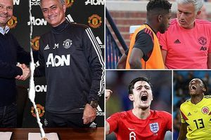 Mâu thuẫn Mourinho - lãnh đạo M.U bị đẩy lên đỉnh điểm