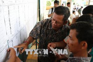 Đảng Nhân dân Campuchia giành số phiếu cao nhất, chiếm 76,78%
