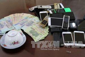 Hà Giang phá vụ đánh bạc gần 2 tỷ đồng