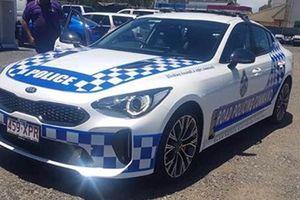 Kia Stinger GT được biên chế vào đội xe tuần tra của cảnh sát Úc