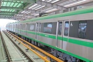 Hà Nội sắp chạy thử tuyến đường sắt đô thị Cát Linh-Hà Đông
