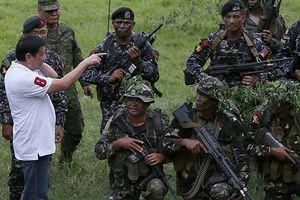 Ông Duterte 'chìa cành ô liu' về phía phiến quân Hồi giáo cực đoan Abu Sayyaf