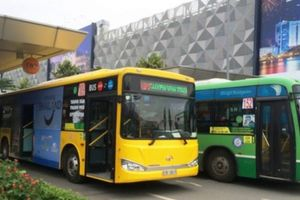 Đề xuất làn đường riêng cho xe bus trong sân bay Tân Sơn Nhất