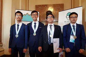 Thêm Huy chương vàng Olympic Hóa học năm 2018 cho học sinh Việt Nam