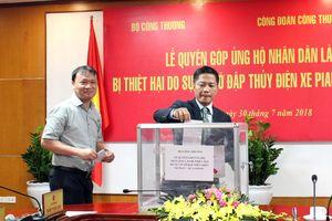 Ngành Công Thương Việt Nam chung tay hỗ trợ Lào vượt qua sự cố vỡ đập