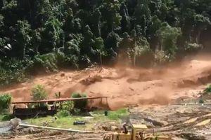 Toàn cảnh vỡ đập thủy điện tại Lào