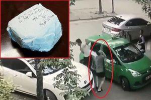 Khởi tố tài xế Mercedes cầm gạch 'choảng' lái xe taxi