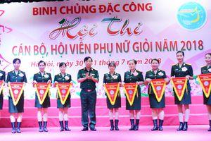 Binh chủng Đặc công tổ chức hội thi cán bộ, hội viên phụ nữ giỏi