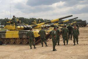 Lính xe tăng 23 nước tranh tài ngoạn mục tại Nga