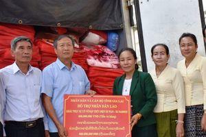 Gia Lai hỗ trợ tỉnh Attapeu 400 triệu khắc phục sự cố vỡ đập thủy điện