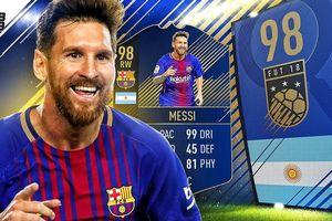 Clip: Những pha đá phạt siêu đẳng của Lionel Messi trong FIFA 18