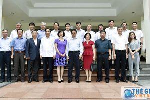 Trưởng Ban Tổ chức Trung ương làm việc với các Trưởng cơ quan đại diện Việt Nam ở nước ngoài