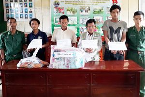 Khởi tố 4 nghi phạm vận chuyển 38kg thuốc nổ ở Quảng Nam
