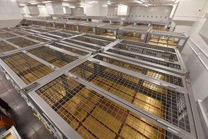 Mục sở thị kho dự trữ 2.000 tấn vàng của Nga